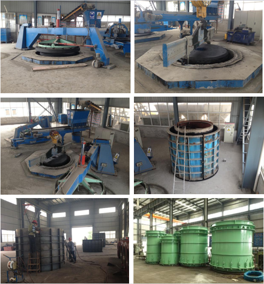 Reinforced Concrete Pipe RCP Making Machine